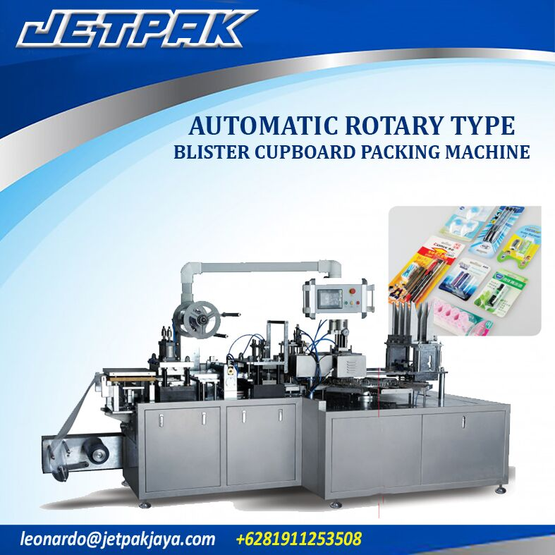 Automatic Rotary Type Blister Cupboard Packing Machine
