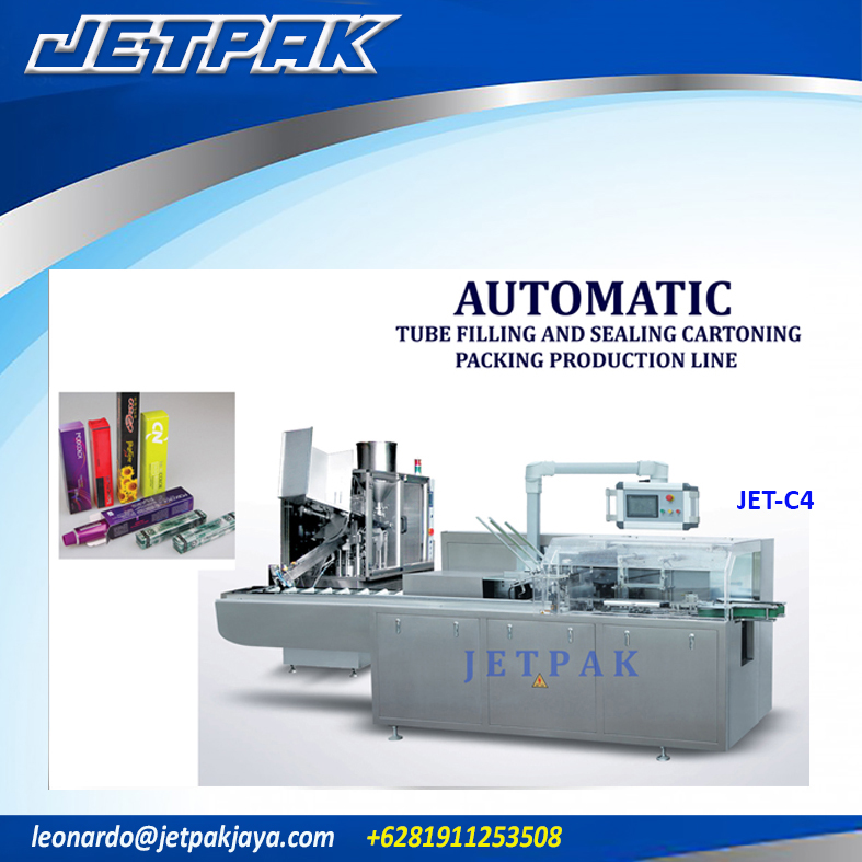 Automatic Tube Filling and Sealing (JET-C4)