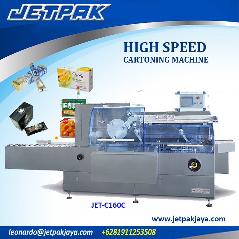 High Speed Cartoning Machine (JET-C160C)