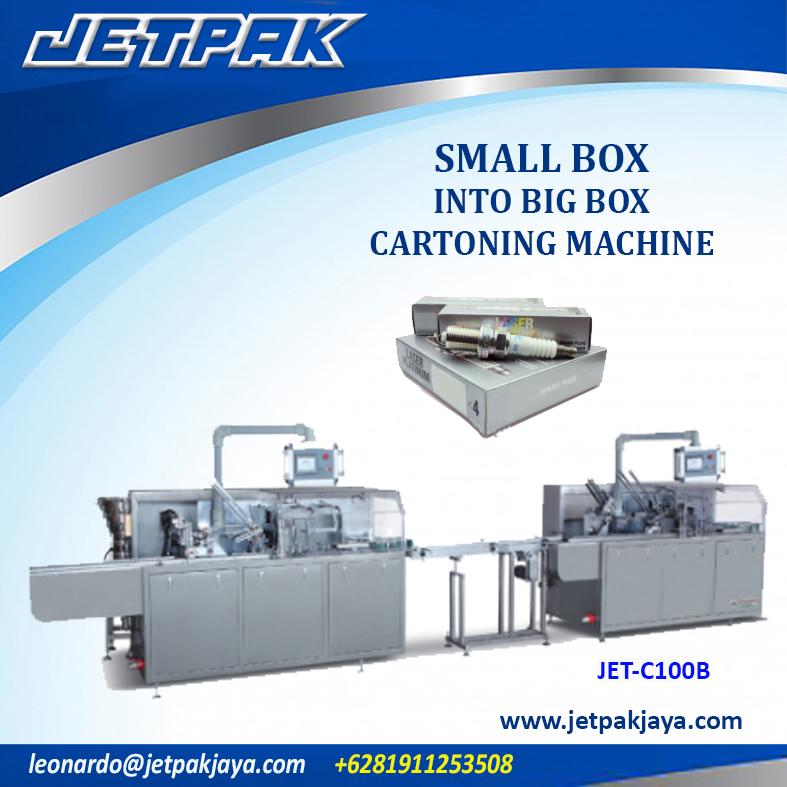 Small Box Into Big Box Cartoning Machine (JET-C100B)