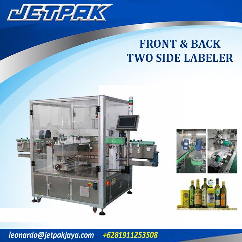 Front & Back Two Side Labeler