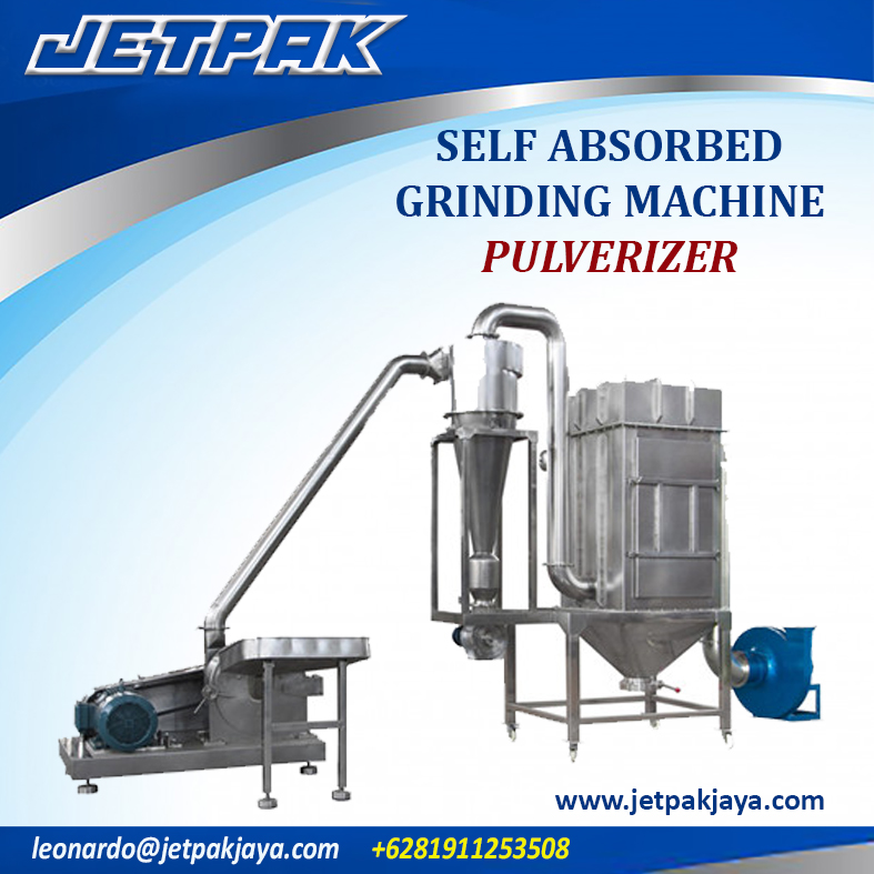 Self-absorbed Grinding Machine (PULVERIZER)