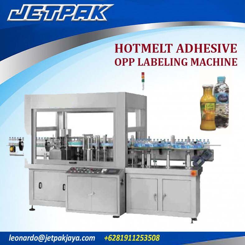 Hotmelt Adhesive Opp Labeling Machine
