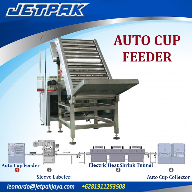 Auto Cup Feeder (Shrink Sleeve)