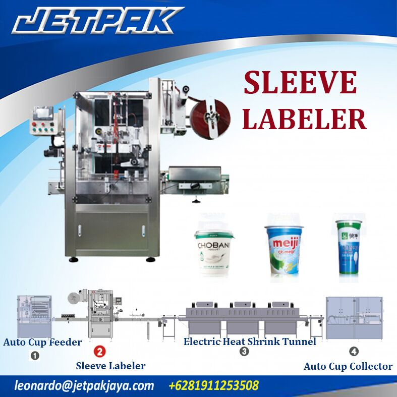 Auto Sleeve Labeling Machine Single head JET-250