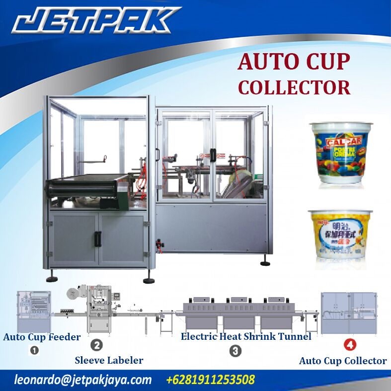 Auto Cup Collector (Shrink Sleeve)