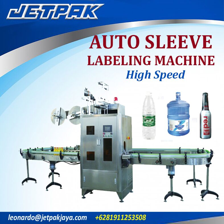 Auto Sleeve Labeling Machine High speed JET-600