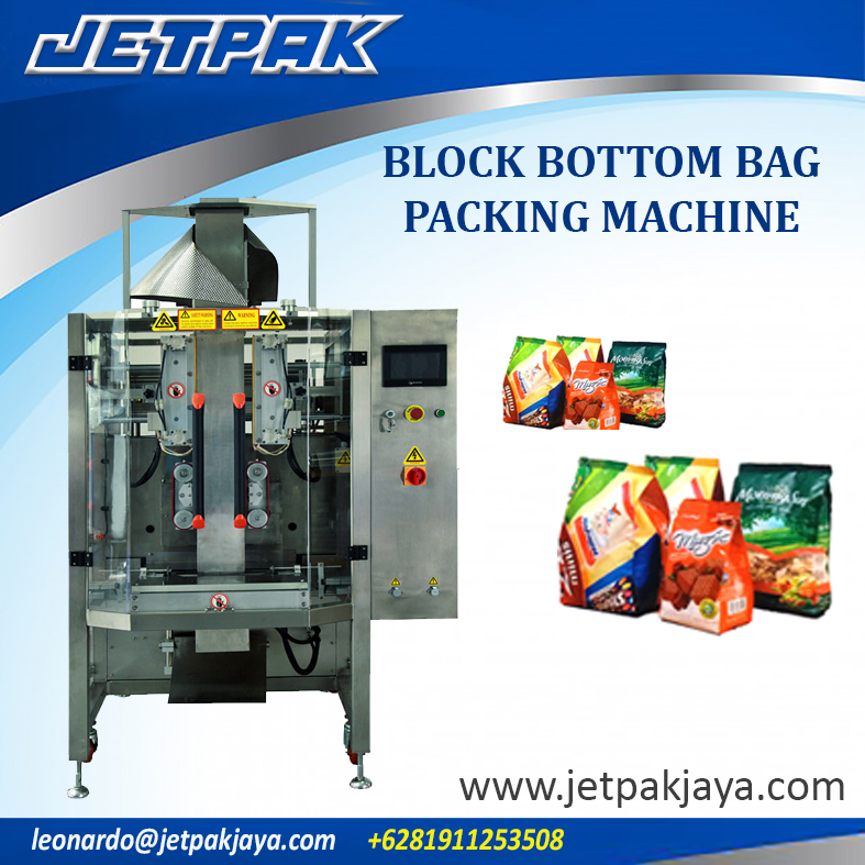 Block Bottom Bag Packing Machine