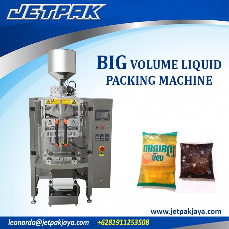BIG Volume Liquid Vertical Packing Machine