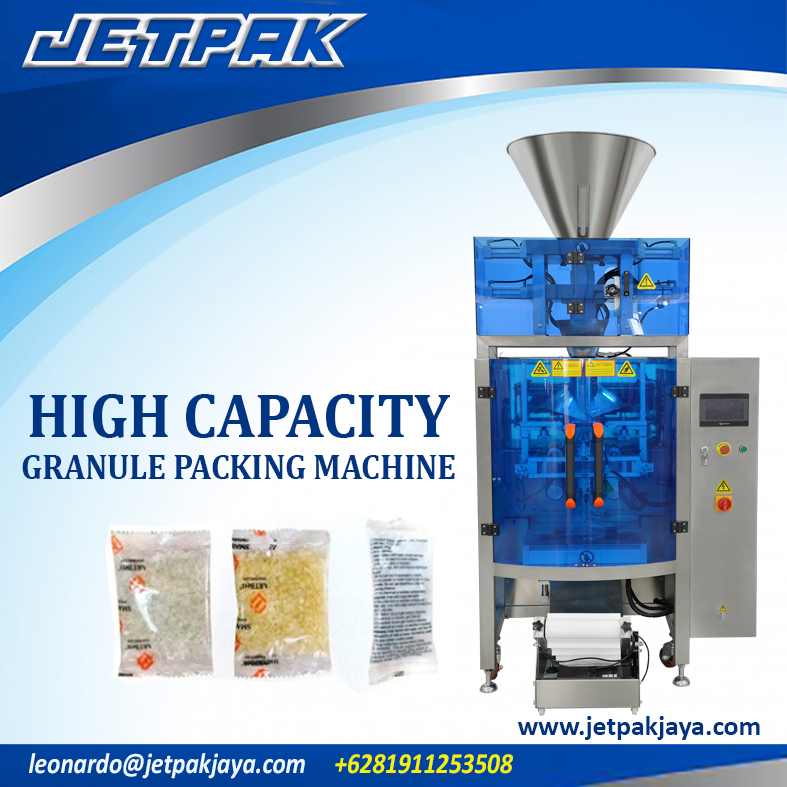 High Capacity Granule Vertical Packing Machine