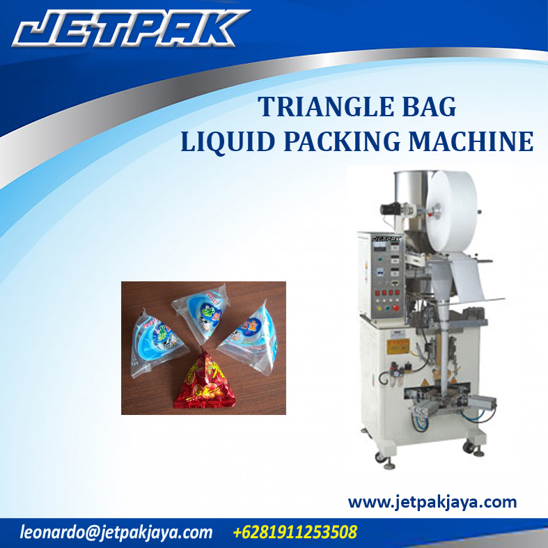 Triangle Bag Liquid Packing Machine