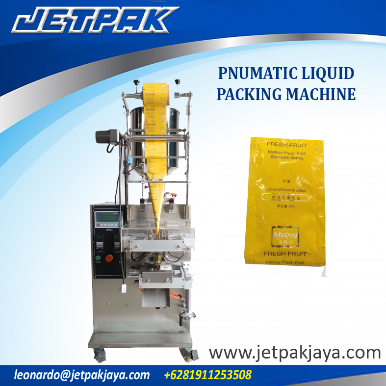 Pnumatic Liquid Packing Machine