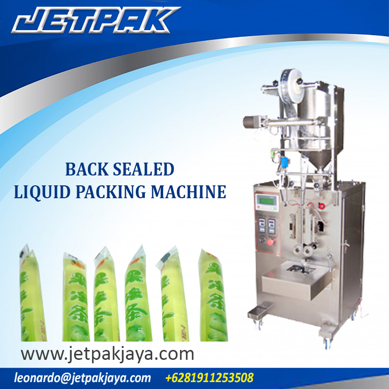 Back Sealed Liquid Vertical Packing Machine