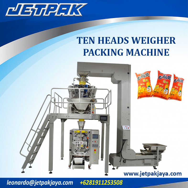 Ten Heads Weigher Vertical Packing Machine