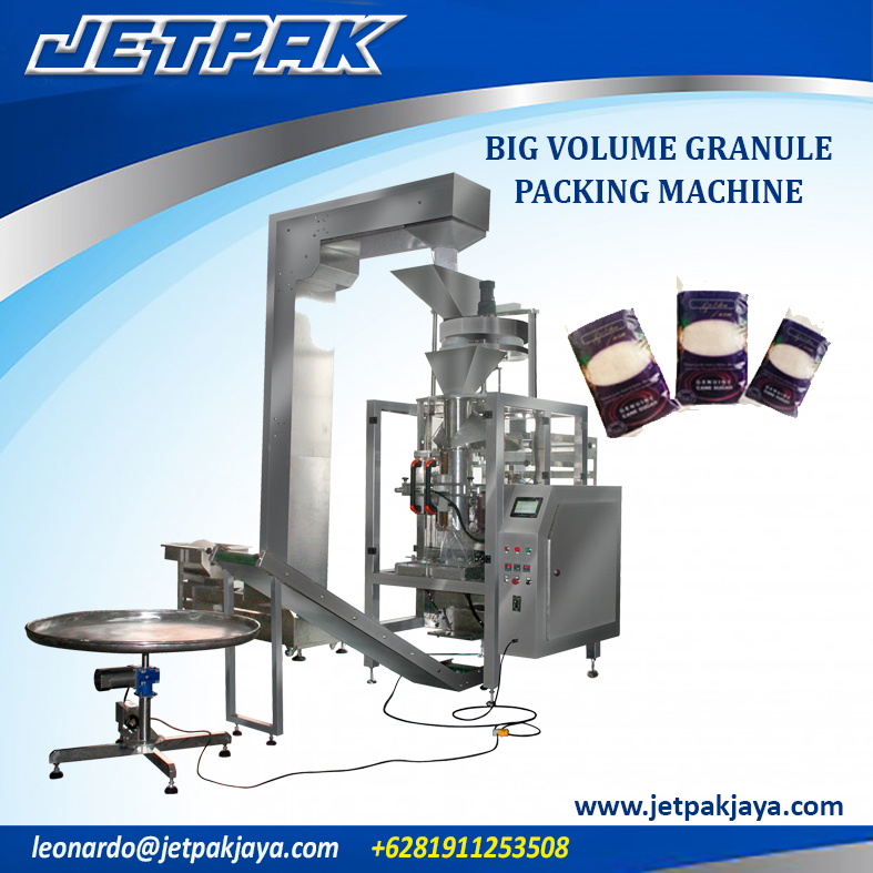 Big Volume Granule Vertical Packing Machine
