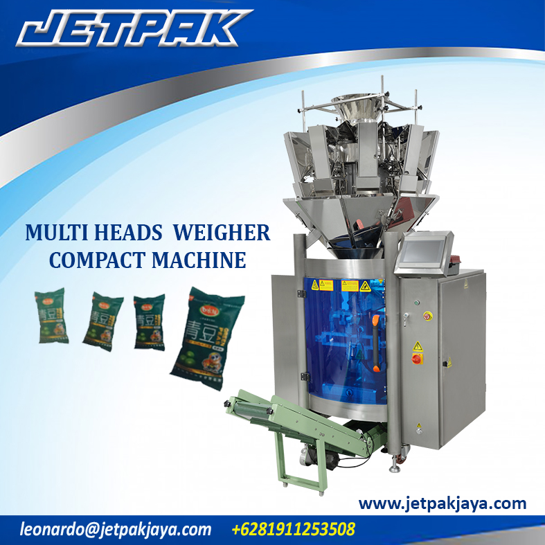 Multi Heads Weigher Compact Vertical Packing Machine