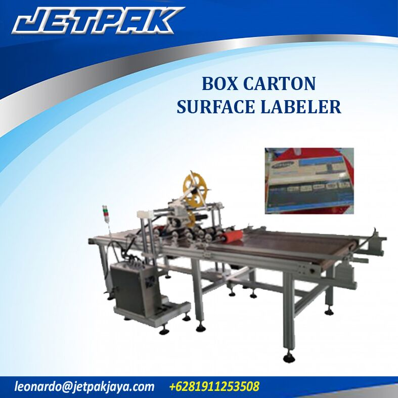 Box Carton Surface Labeler