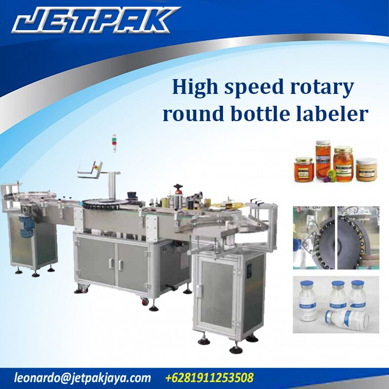 High Speed Rotary Round Bottle Labeler