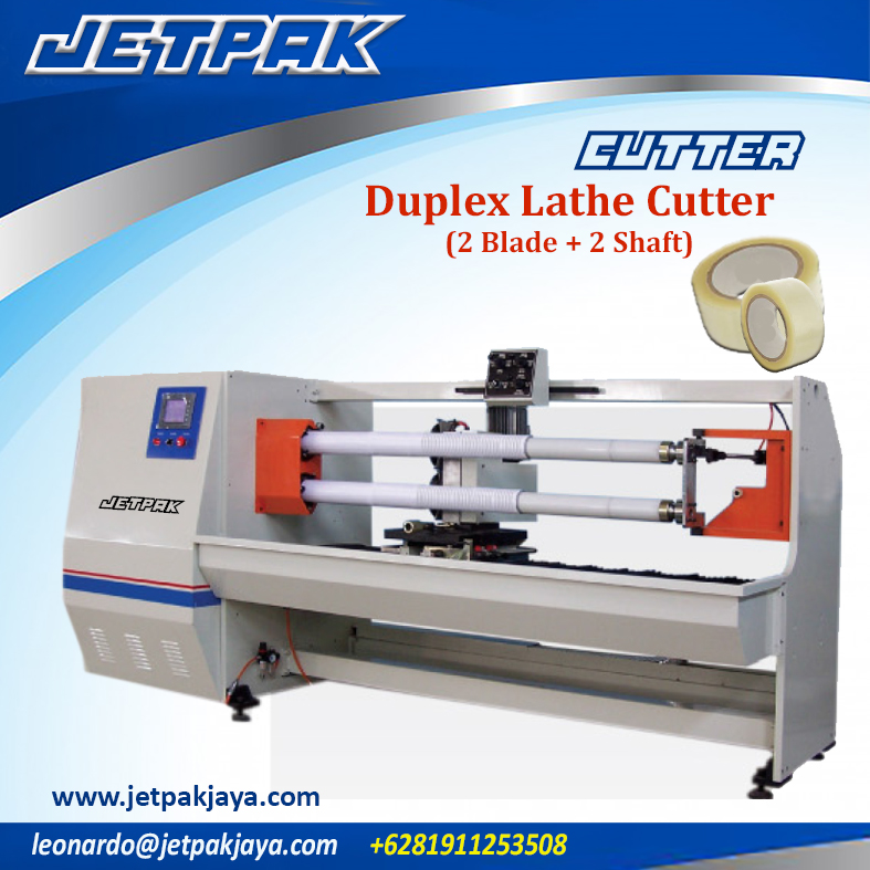 Duplex Lathe Cutter (2 blades + 2 shafts )