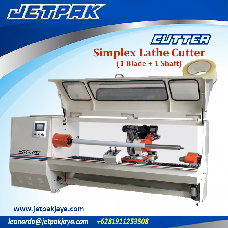 Simplex Lathe Cutter (1 blade + 1 shaft)