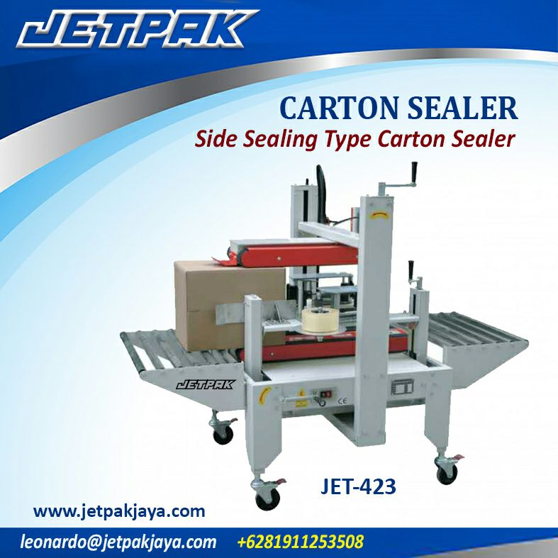 CARTON SEALER Side Sealing Type Carton Sealer