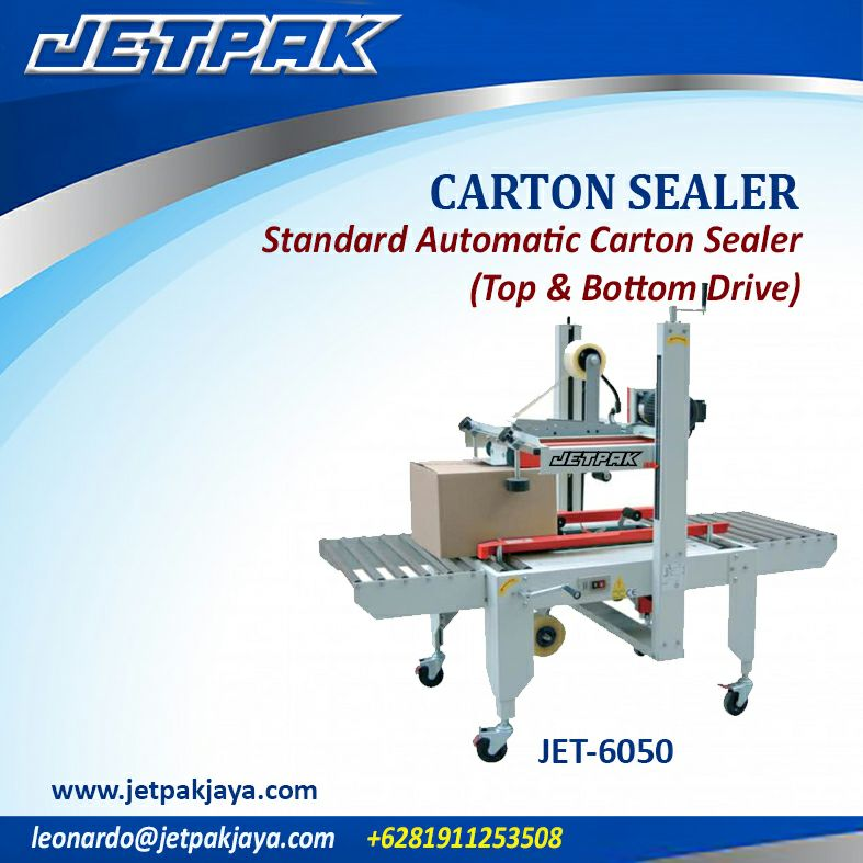 CARTON SEALER Standart Automatic Carton Sealer (top & bottom drive)