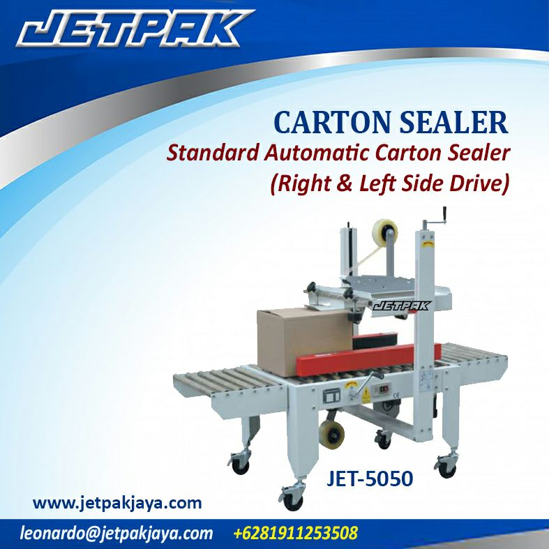 CARTON SEALER Standart  Automatic Carton Sealer (right & left side drive)