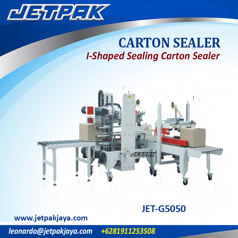 JET-G5050 I-Shaped Sealing Carton Sealer