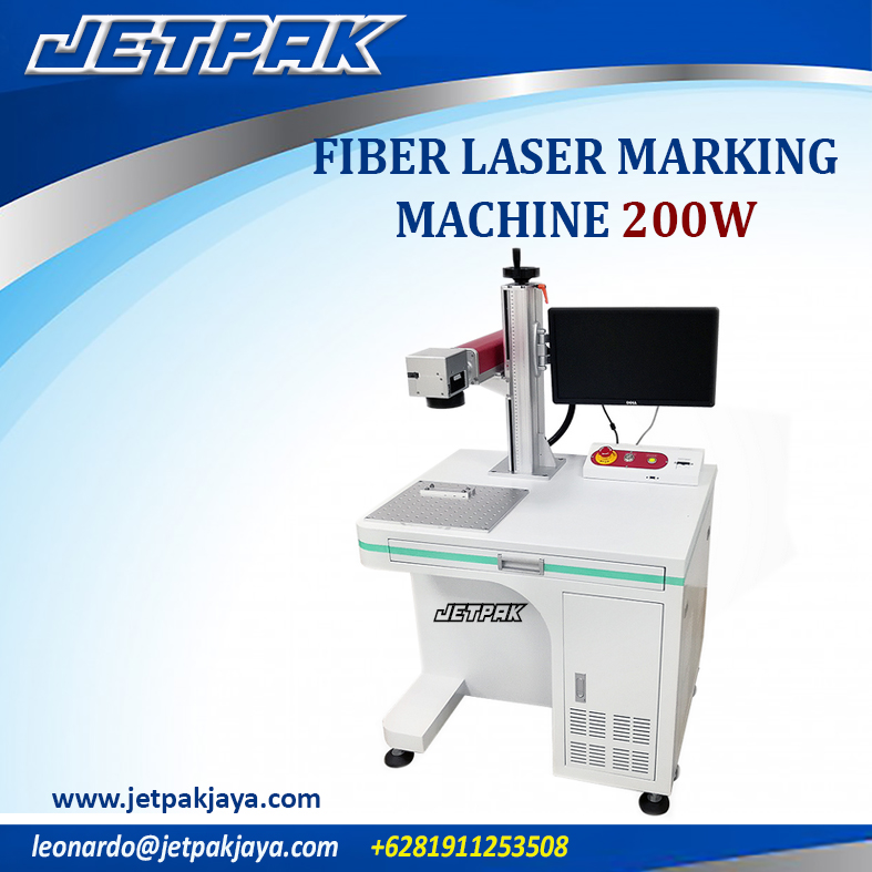 FIBER LASER MARKING MACHINE 200W
